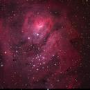 Lagoon Nebula,                                Joel Brewer