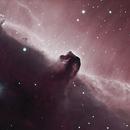 Horsehead Nebula ,                                 degrbi