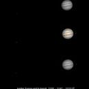 Jupiter, Europa and Io transit,                                Dominique Callant