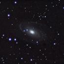 M81 full resolution crop,                                StarGale
