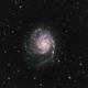 M101,NGC 5457,The Pinwheel Galaxy (Trial and Error),                                Tam Rich