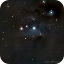 Running Man Nebula,                                Rich Bamford
