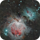 Great orion nebula (Messier 42),                                JohnPlayerSpecial