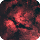 The Butterfly Nebula (IC1318) - Starless Version,                                aukropov