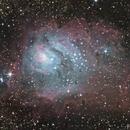 M8 The Lagoon Nebula - Crop,                                Fenton