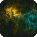 SH2-132 Lion Nebula,                                Thorsten Malchow