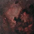 NGC7000 - North America - Wide field,                                ZlochTeamAstro