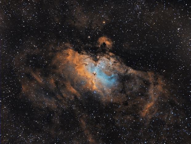 M 16 - Eagle Nebula,                                Danilo Caldini