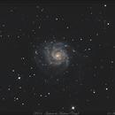 M101 - Galaxie du Moulinet - version cropée - 21 Avril 2018,                                dsoulasphotographie