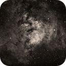 Ced 214 (Cederblad 214 - part of NGC7822) in h-alpha,                                HaSeSky