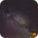 Backyard Milky Way - The Summer Triangle,                                  G400