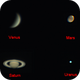 6 planets in one evening,                                Dennys_T