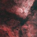 Eta Carina in HOO - 4 Panel Mosiac,                                Janco