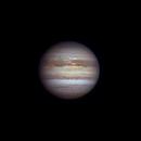 Jupiter 2020-09-15. Images on the North Equatorial Belt. RGB,                                Pedro Garcia