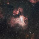 Swan Nebula,                                Laurence Pap