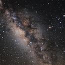 Vetrarbreytin/Vetrarbrautin/Milky Way -  data courtesy Wei-Hao Wang,                                  Sigga