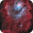 Lagoon Nebula,                                Tadej Skofic