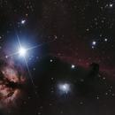 B33 Horsehead Nebula and NGC 2024 Flame Nebula,                                Bernadov