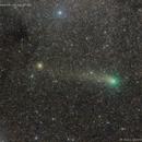 Comet PanSTARRS above the Milky Way,                                José J. Chambó