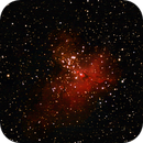 M16 Eagle Nebula NGC6611,                    Bob Mimiaga