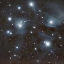 M45 Pleadi,                                Gentile Angelo