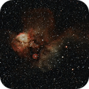 NGC 2467 - Skull and Crossbones Nebula,                                Samuel Khodari