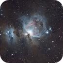 M42 Orion Nebula Jan-11-2018,                    Evan Olson