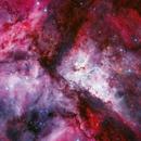 Carina nebula,                                Péter Feltóti