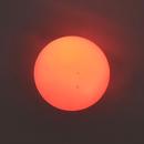 Smokey Wildfire Sun /w Spots,                                astrobrad
