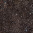 NGC 6834 Starcluster and NGC 6842 small PN,                                Riedl Rudolf