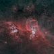 NGC3576 - Statue of Libery Nebula (HOO),                                Janco