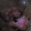 North America and Pelican Nebulas,                                SeanM