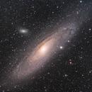 M31 - Andromeda Galaxy in HaLRGB,                                astronate