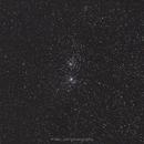 NGC869, NGC884 - Double star cluster in Perseus,                                Michal Vokolek