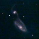 NGC 5394 and NGC 5395, aka ARP 84,                                lowenthalm