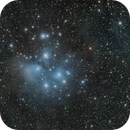 M 45 - The Pleiades and the dust.,                                  GALASSIA 60