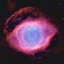 """NGC 7293, The Helix Planetary Nebula in Aquarius (""""The Eye of God""""),                                Mark Wetzel"""