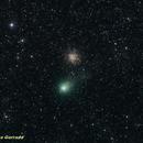 Comet Garradd and M 71,                                José J. Chambó