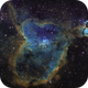 Heart Nebula in Narrowband,                                andevellicus