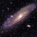 Andromeda galaxy M31,                                Christoph Winkler