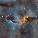 IC1396A Elephant's Trunk in SHO,                                  Boris Emchenko