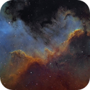 NGC 7000 Great Wall in Hubble colors,                                Jens Zippel