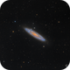 The Sculptor Galaxy | NGC 253,                                  Connor Matherne