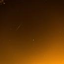 Iridium flare, Jupiter, Bee hive cluster,                                Skeldo