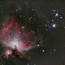 A quick integration of Orion Nebula,                                nicholas disabatino