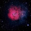 M 20 - Nebulosa Trífida (Trifid Nebula),                                Alan Santana