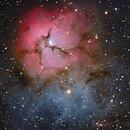 Messier 20 - Trifid Nebula,                                Fabian Rodriguez Frustaglia
