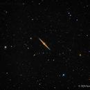 NGC 4565, The Needle Galaxy,                                Scott