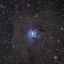 NGC 7023 Iris Nebula EN OC in Cep ,                                Hans-Friedrich Troegeler