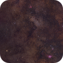 Mosaic: Milky Way Closeup (Astrotracer),                                AlenK